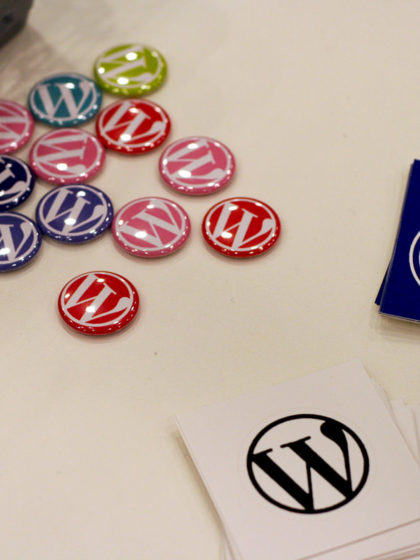 WordPress badges
