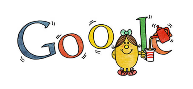Google Doodle - Little Miss Magic