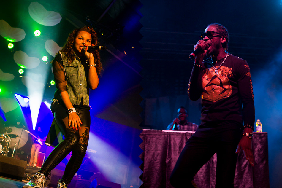 Cecile and Bounty Killer
