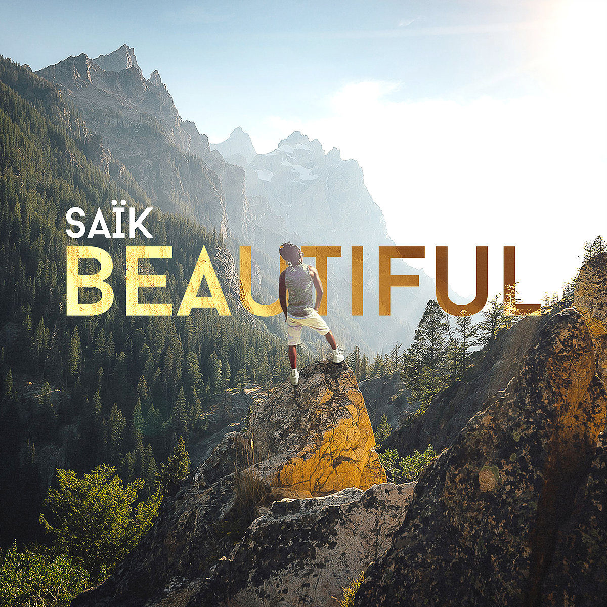 Beautiful de Saïk (Single cover)