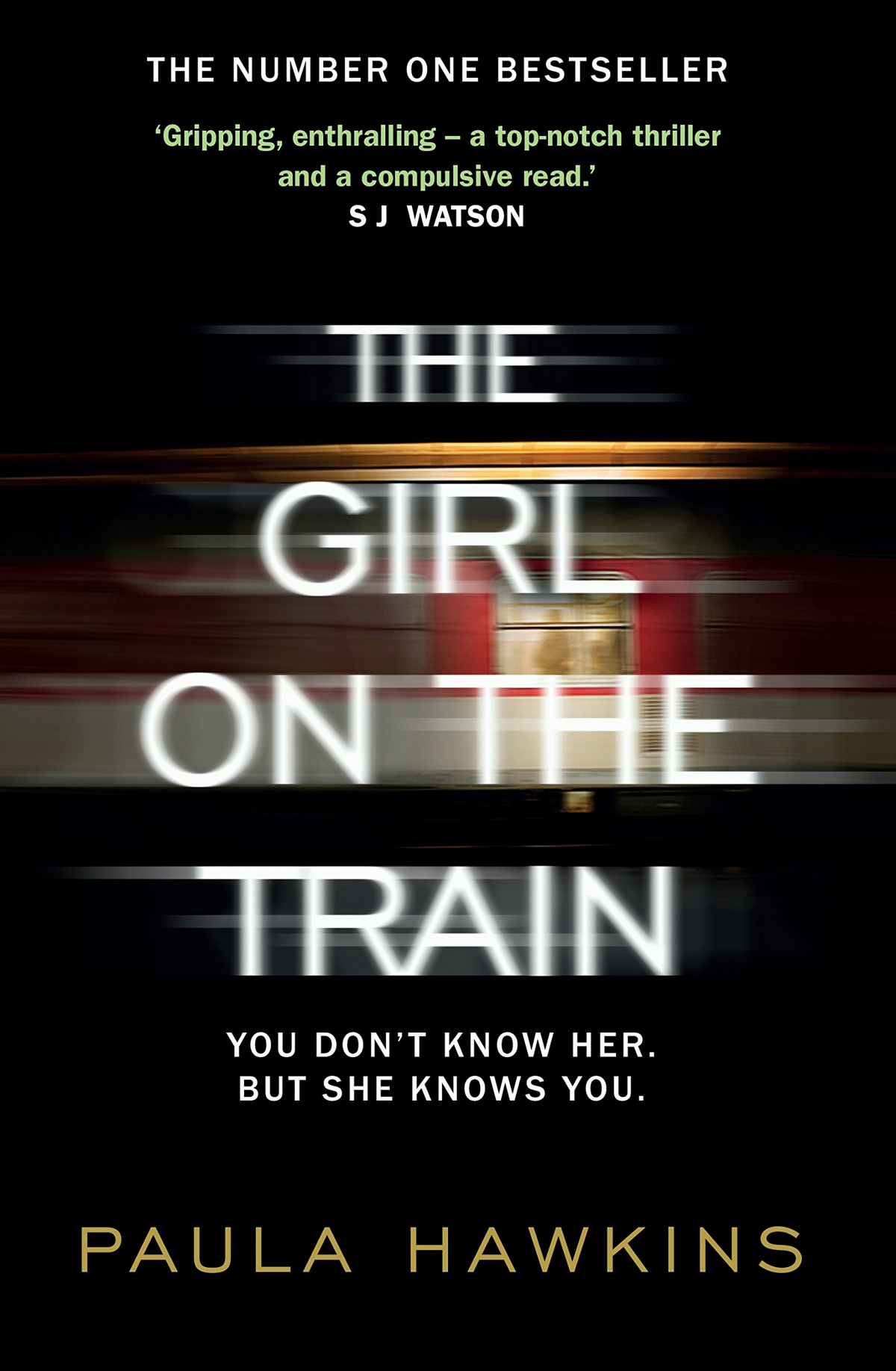 The Girl on the train de Paula Hawkins