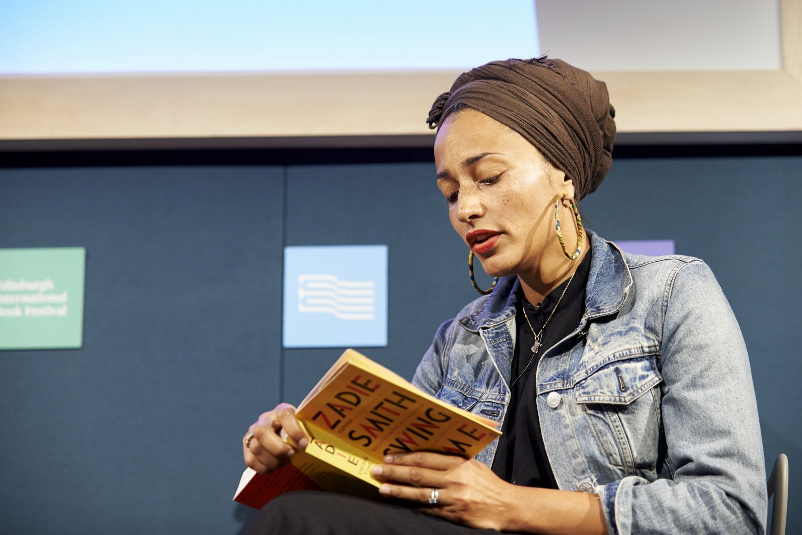 Zadie Smith reading Swing Time