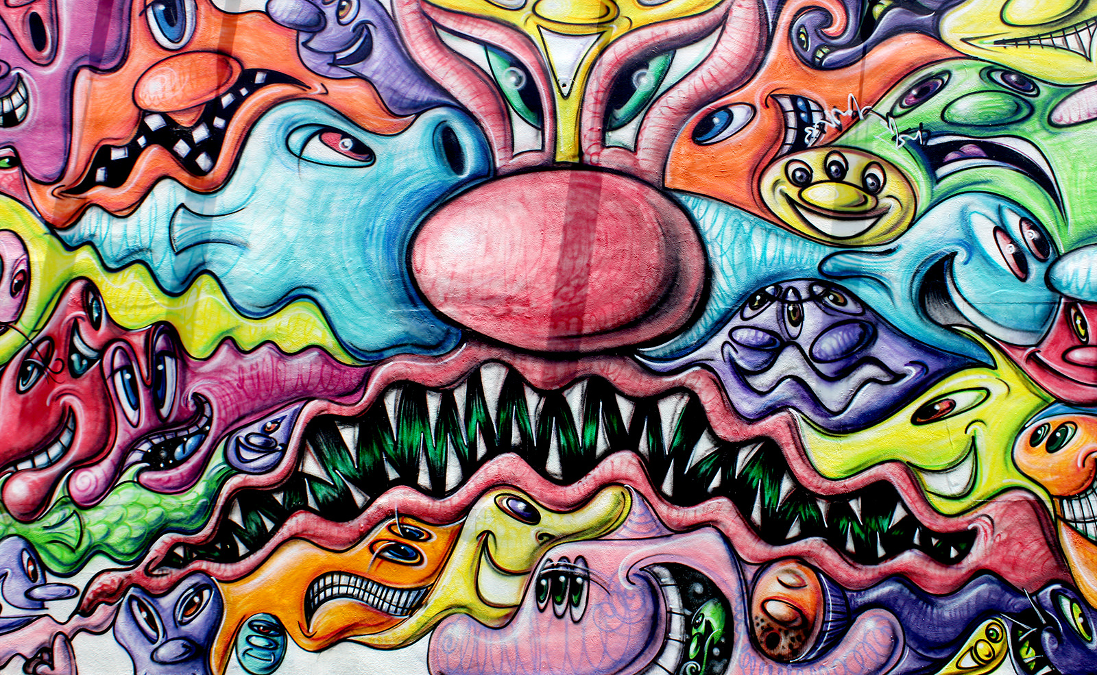 Kenny Scharf à Wynwood Walls