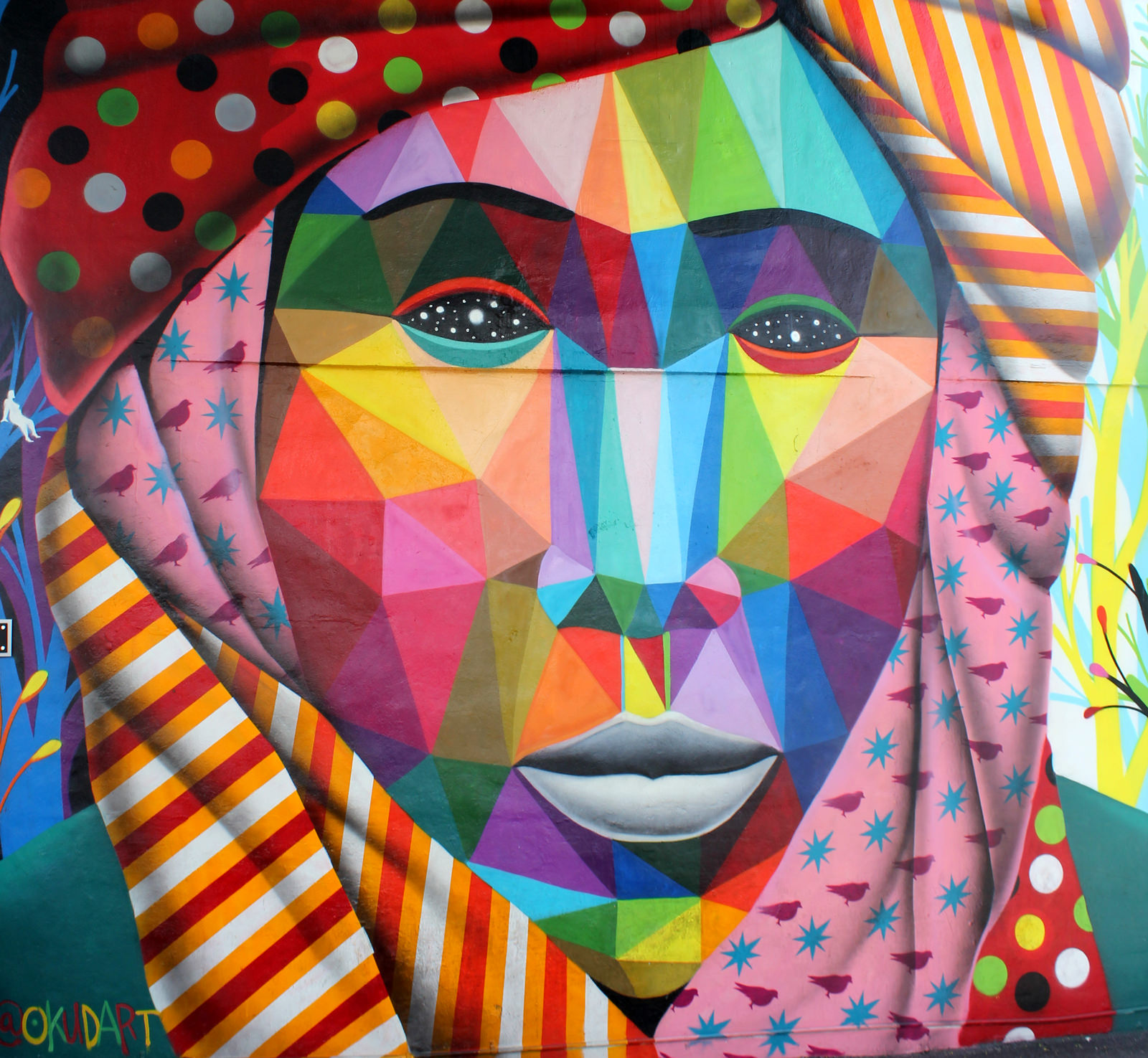 Okuda à Wynwood Walls