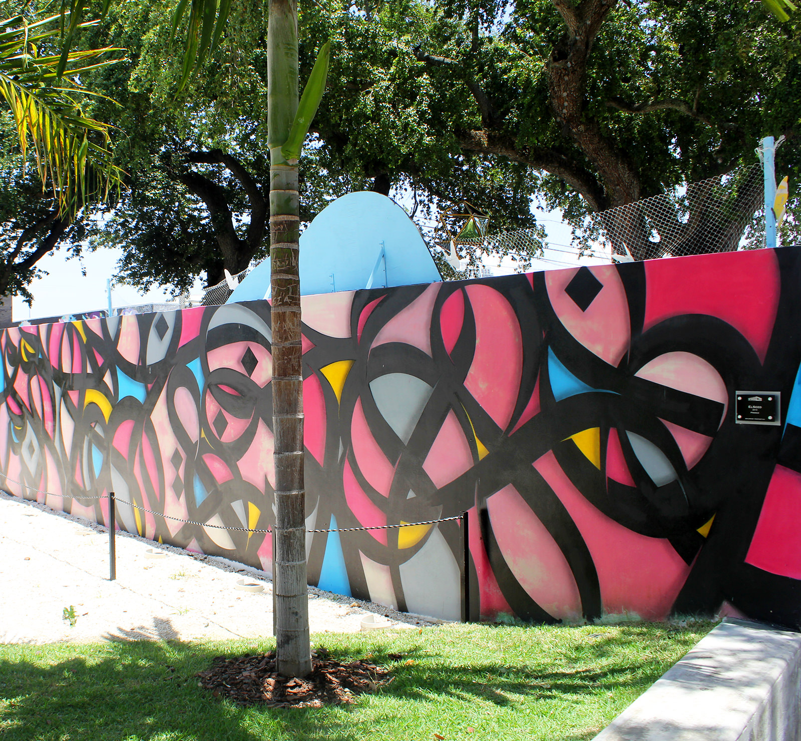 eL Seed à Wynwood Walls