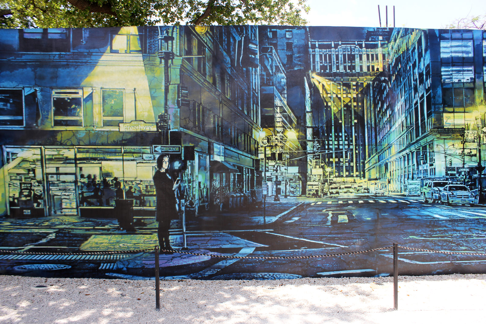 Logan Hicks à Wynwood Walls