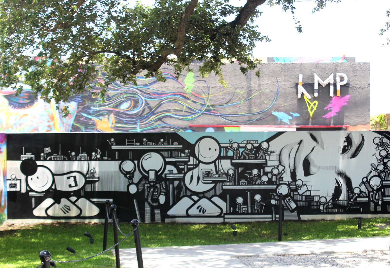 The London Police à Wynwood Walls