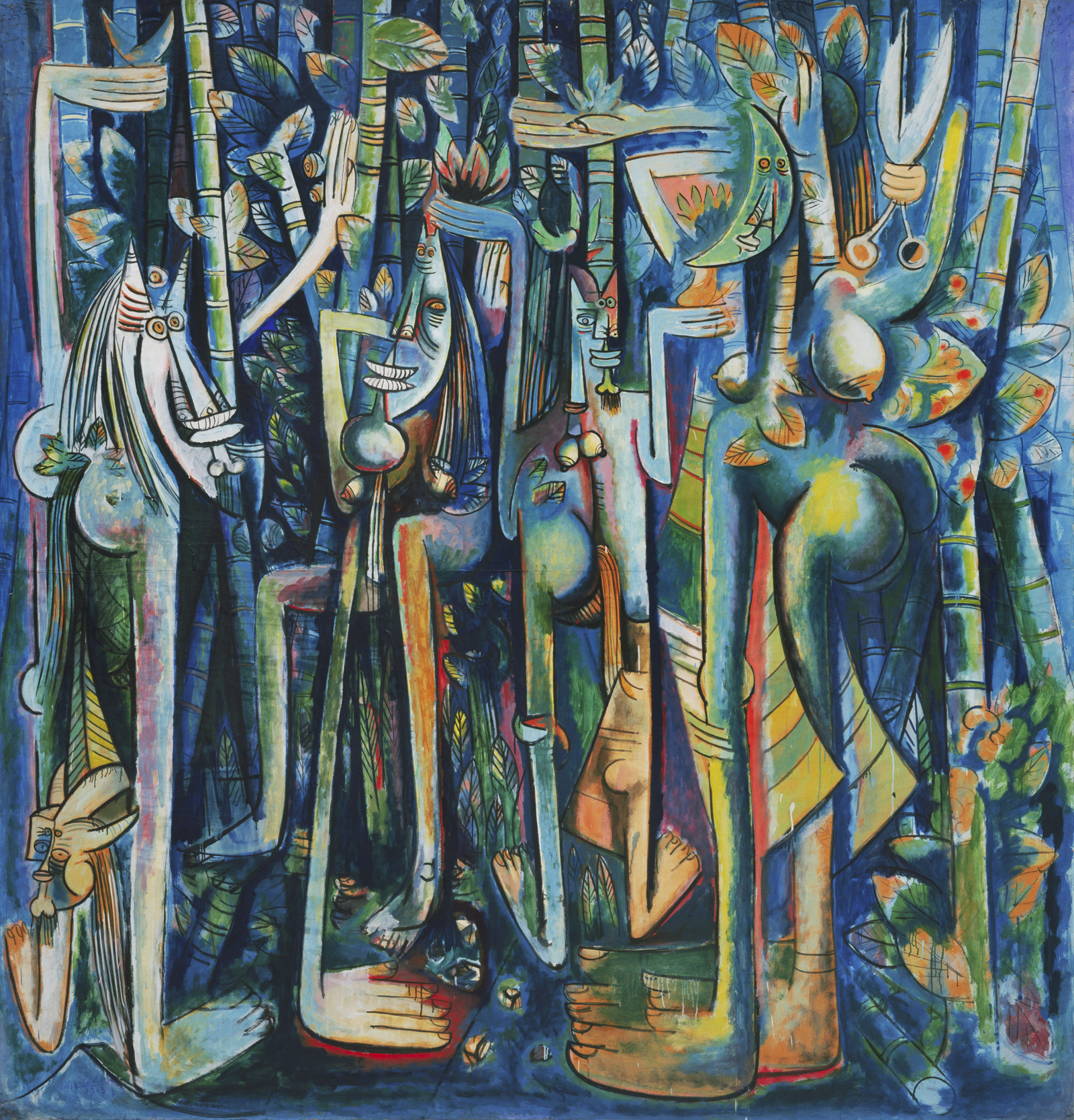 The Jungle de Wifredo Lam