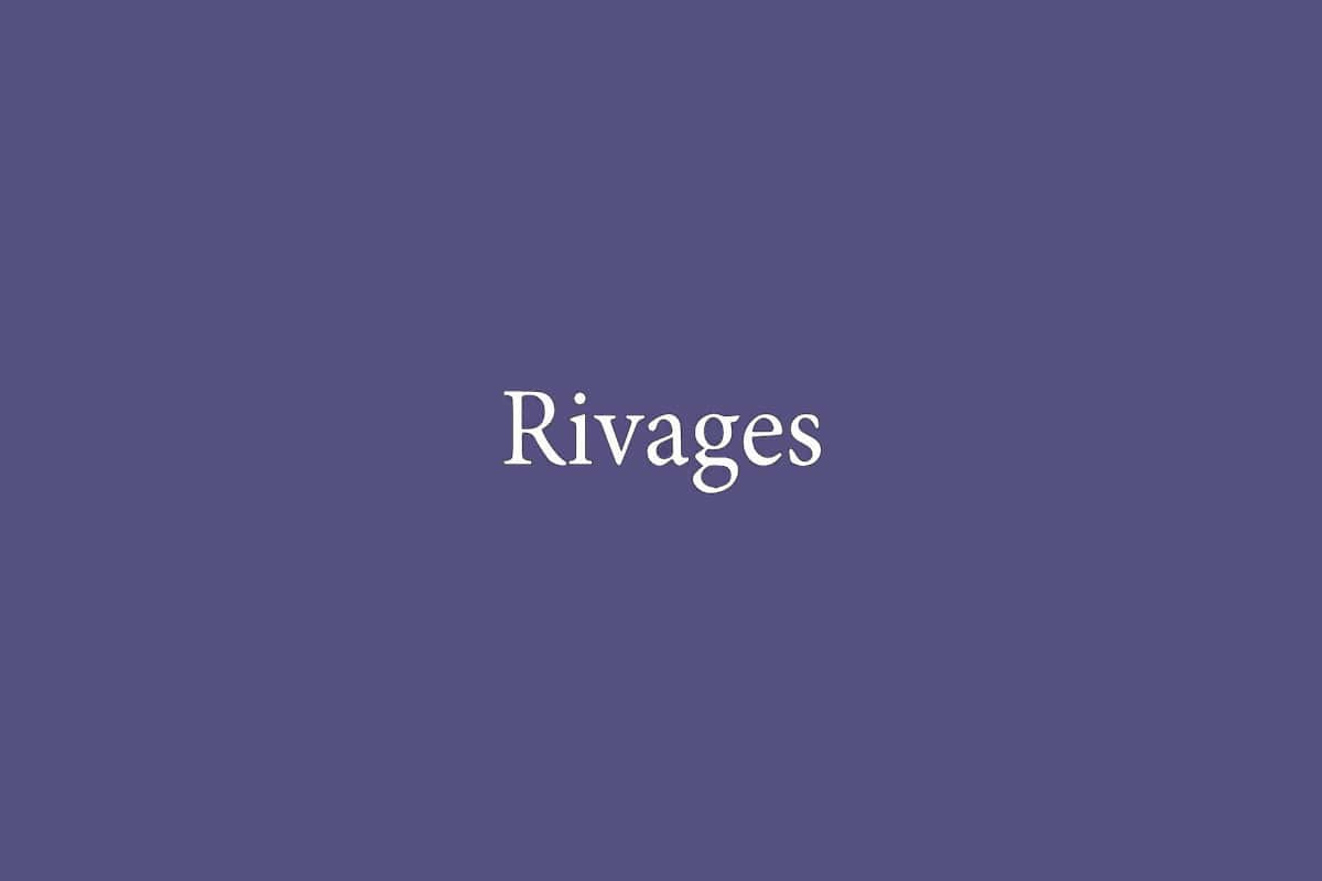 Éditions Rivages